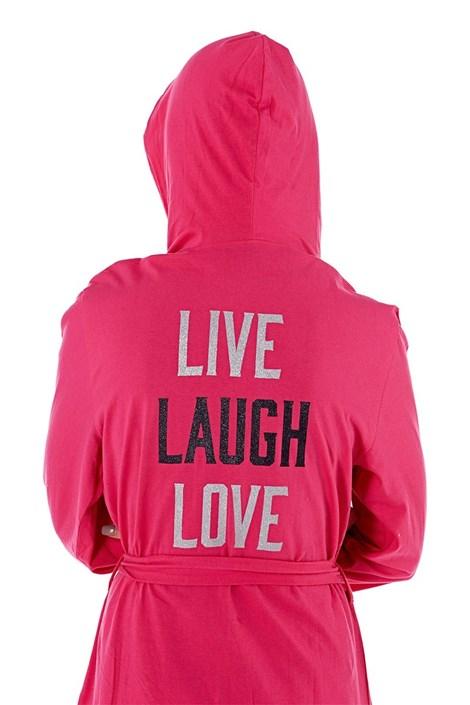 Capot dama Laugh Pink, din bumbac