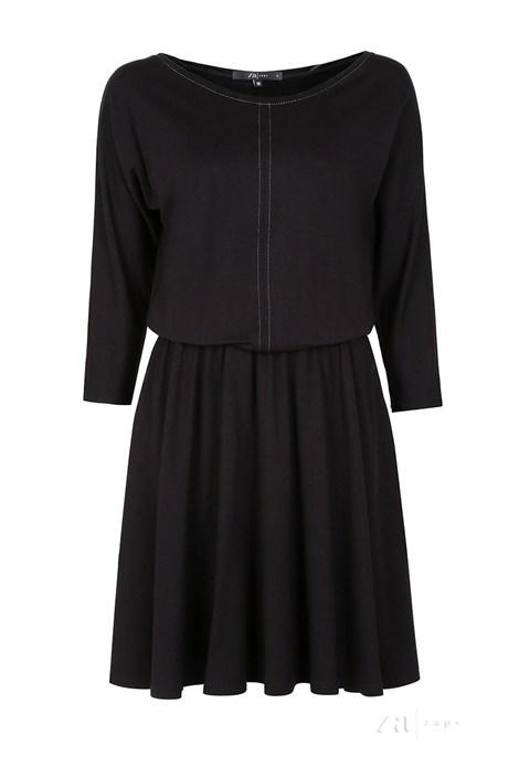 Rochie dama Altea Black, material tricot