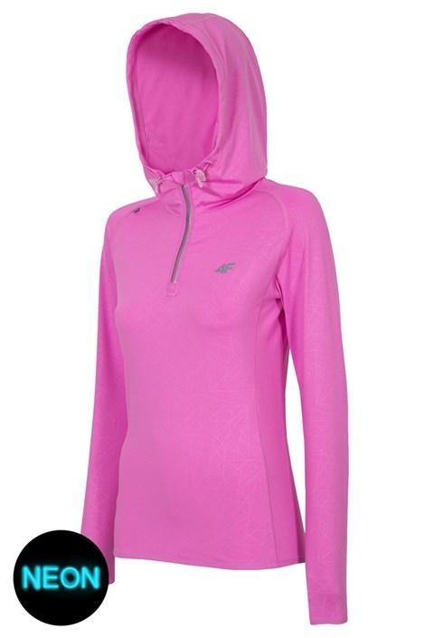 Hanorac sport de dama 4F Pink