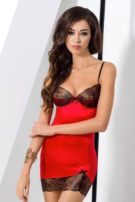 Neglijeu seducator Brida Red