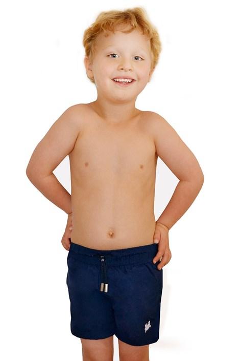 Costum de baie baietei Leonard Navy Blue
