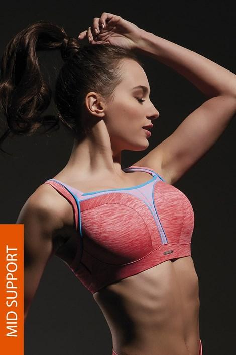 Sutien sport Flow Pink
