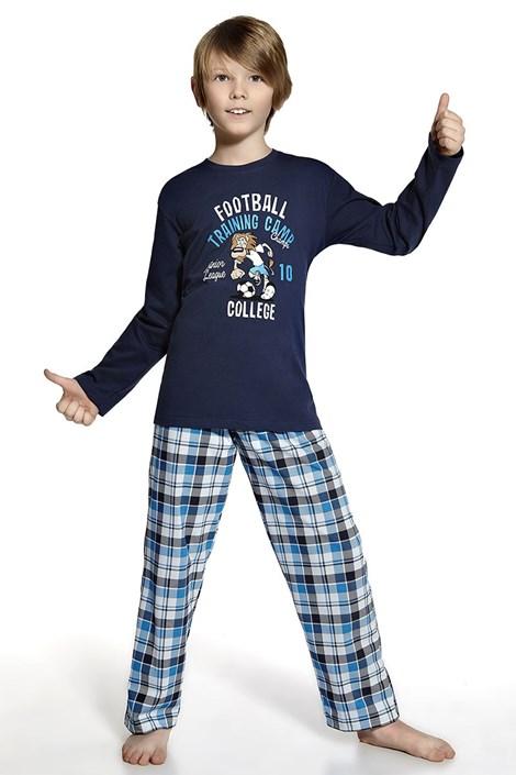 Pijama baietei Fotbal