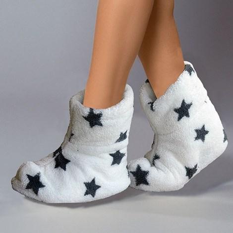 Papuci de casa caldurosi Onyx stars