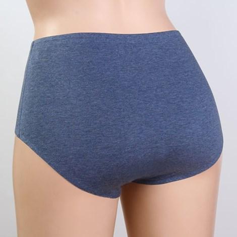 Chilot Invisible Line din bumbac, talie inalta - discretie pe sub haine