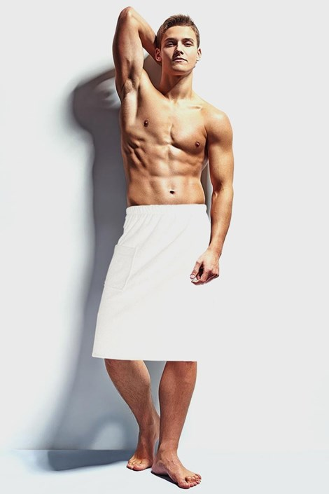 Prosop pentru sauna barbatesc