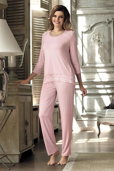 Pijama eleganta Olimpia Pink