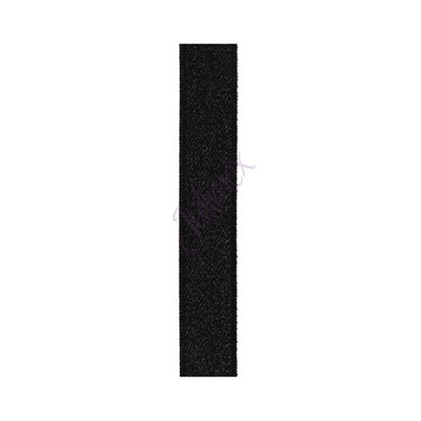 Bretele textile 14 mm negre