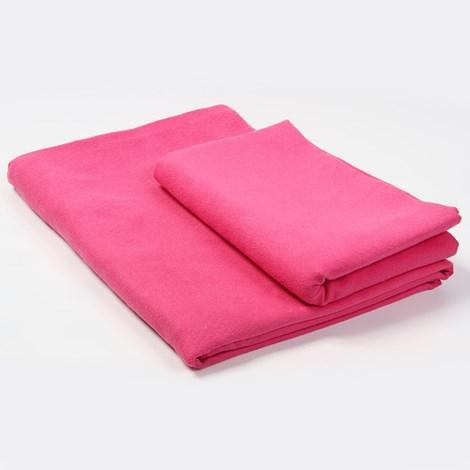 Prosop din material functional, roz