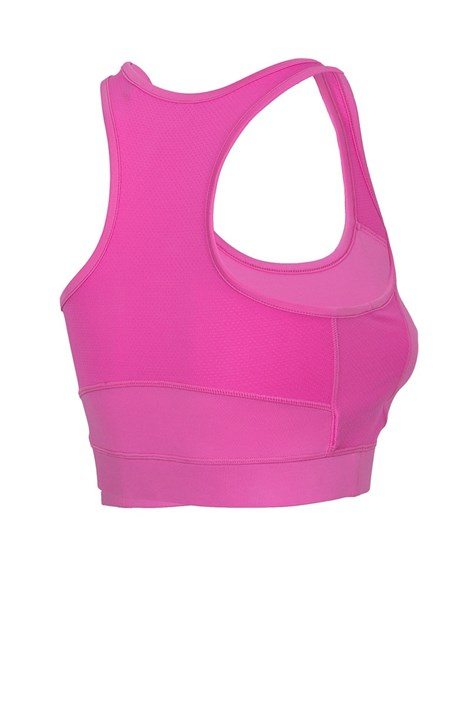 Top sport de dama Pink, cupe neintarite