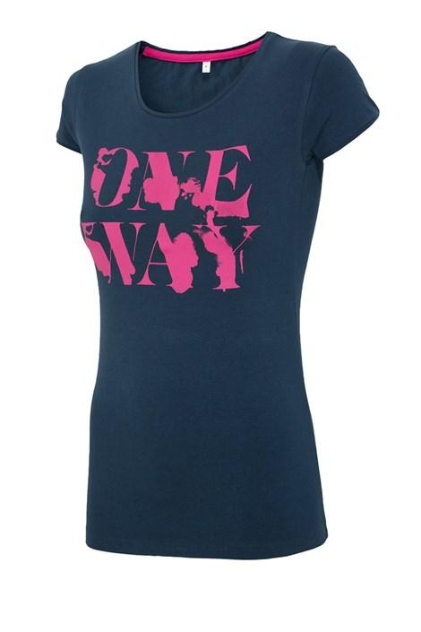 Tricou sport de dama 4f OneWay Navy