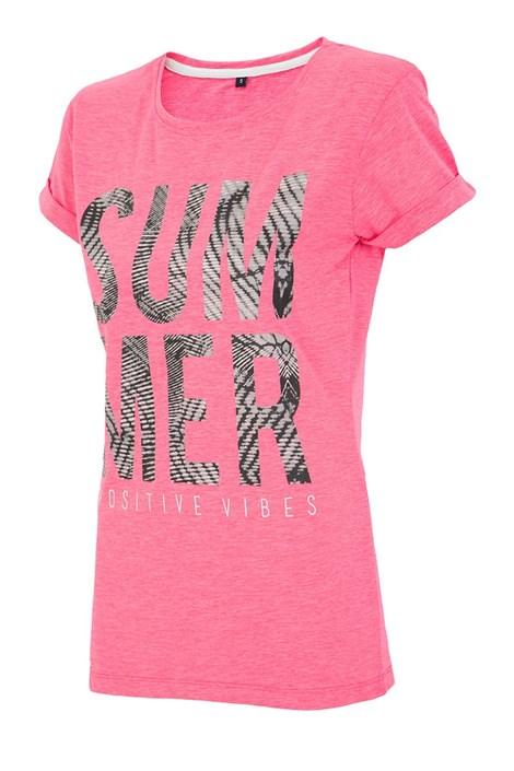 Tricou sport de dama Summer Pink