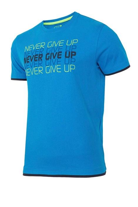 Tricou sport barbatesc Never give up