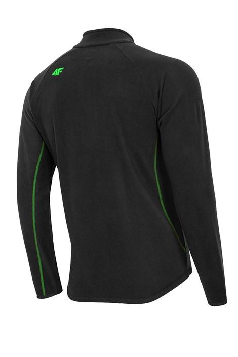 Bluza barbateasca Black 4F din material fleece