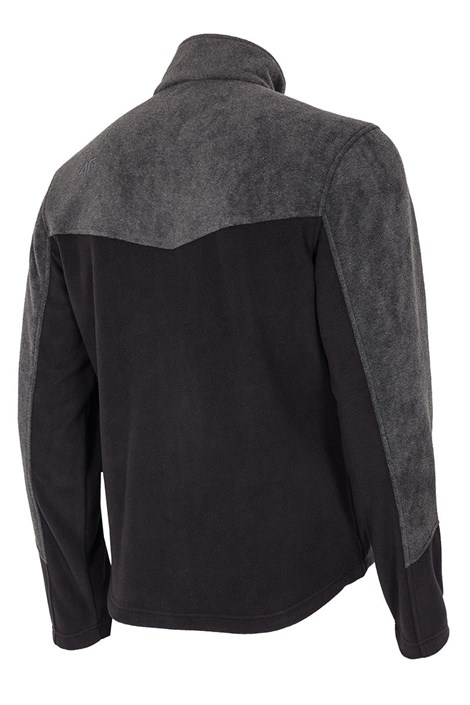 Bluza barbateasca Blackie 4f, material fleece