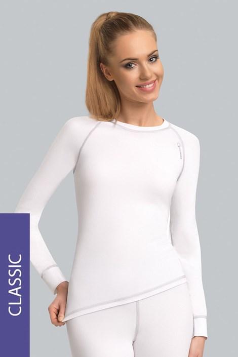 Bluza termica de dama Classic - alba