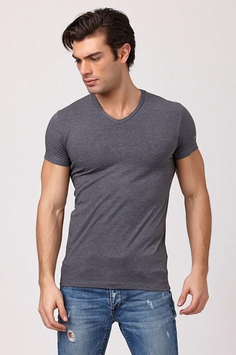 Tricou barbatesc Enrico Coveri 1505 Grey