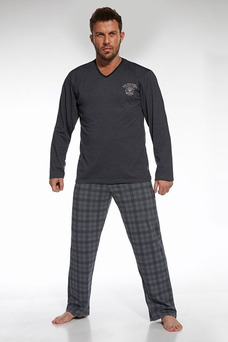 Pijama barbateasca Forest 2, din bumbac