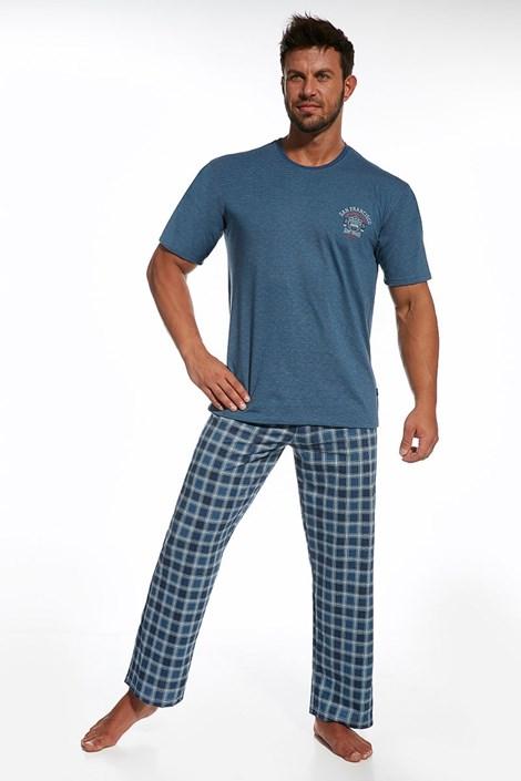 Pijama barbateasca Forest, din bumbac