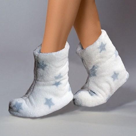 Papuci de casa caldurosi Stars Crystal