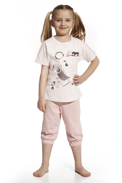 Pijama fetite I love summer