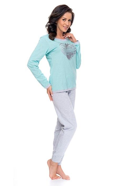 Pijama dama Minty heart