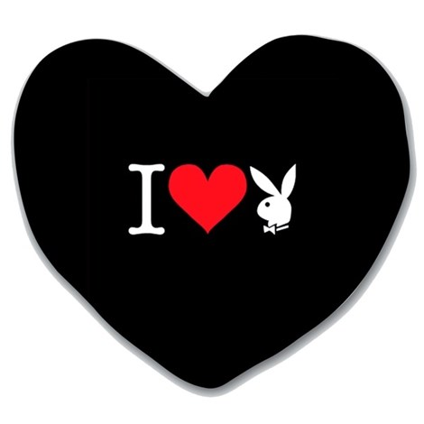 Pernita Heart Bunny Black