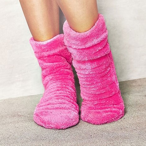 Sosete calduroase Pink