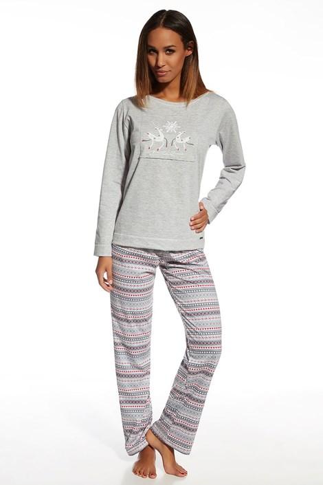 Pijama din bumbac Snowflake