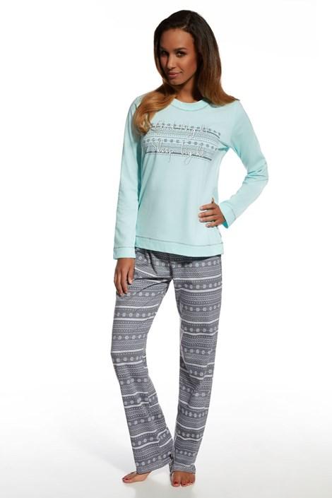 Pijama dama Stars 3, din bumbac