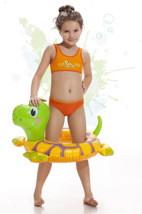 Costum de baie fetite Turtle