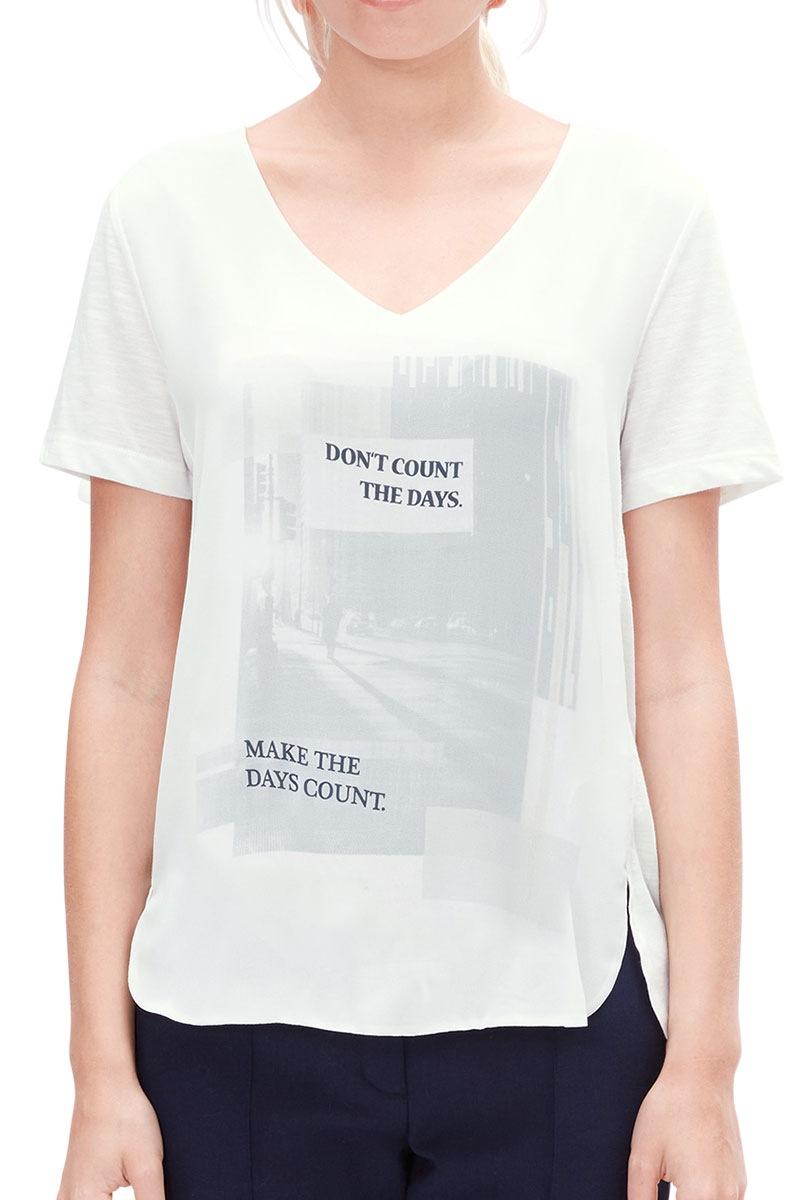 Bluza dama V1 s.Oliver cu imprimeu