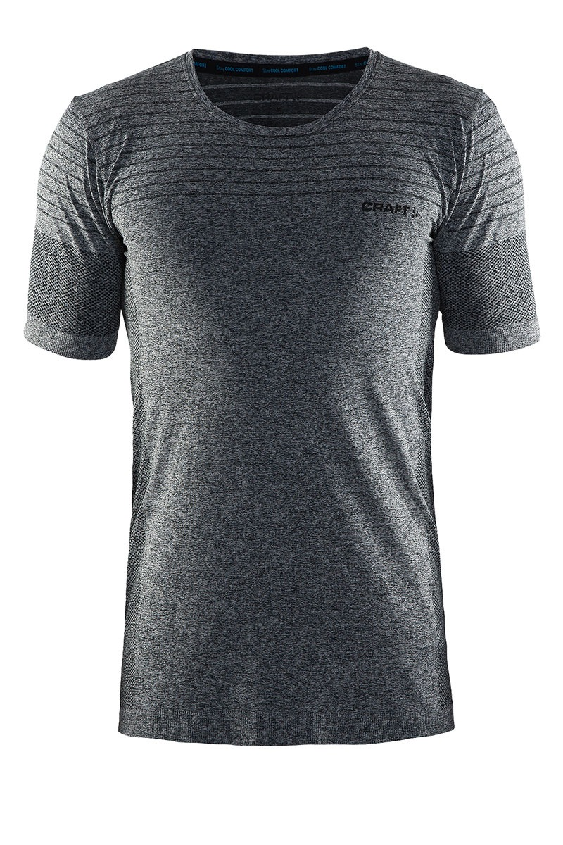 Craft Tricou barbatesc Craft Cool Comfort Grey material functional