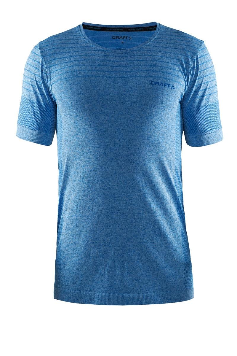 tricou-barbatesc-craft-cool-comfort-blue-material-functional