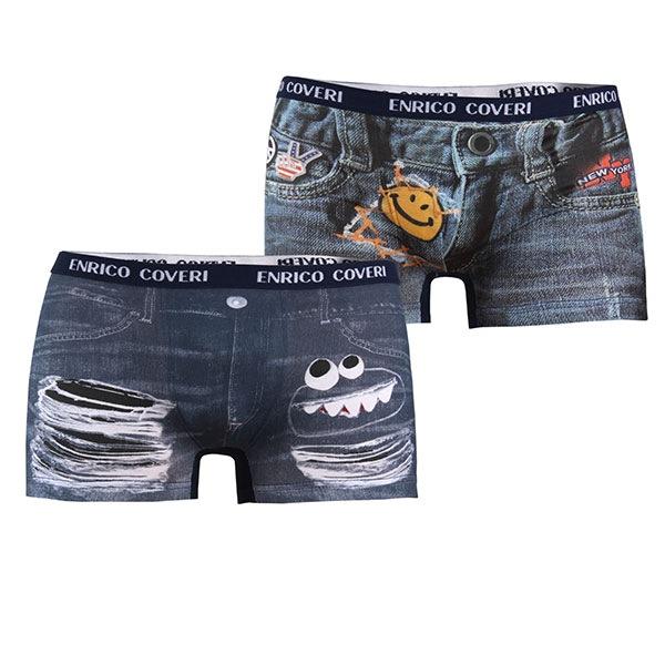 Enrico Coveri 2pack boxeri baieteti EB4043