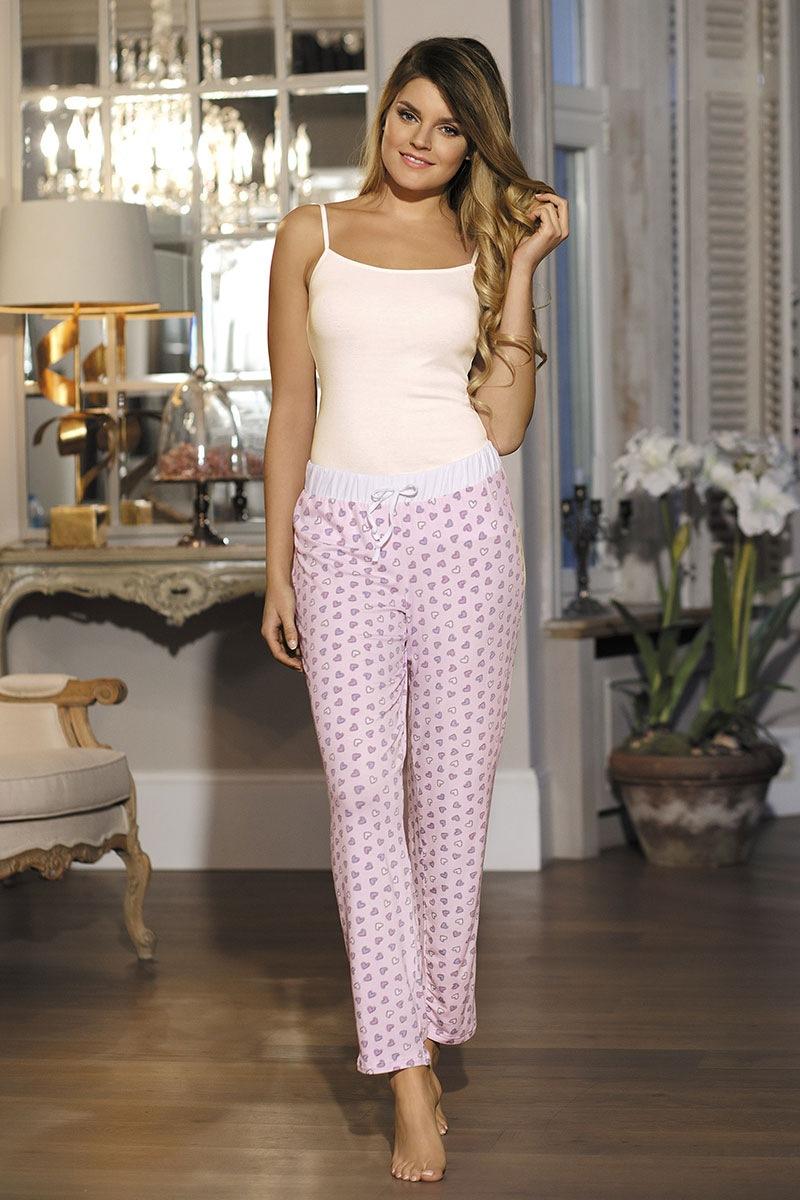 Babella Pantalon pijama de dama Hearts