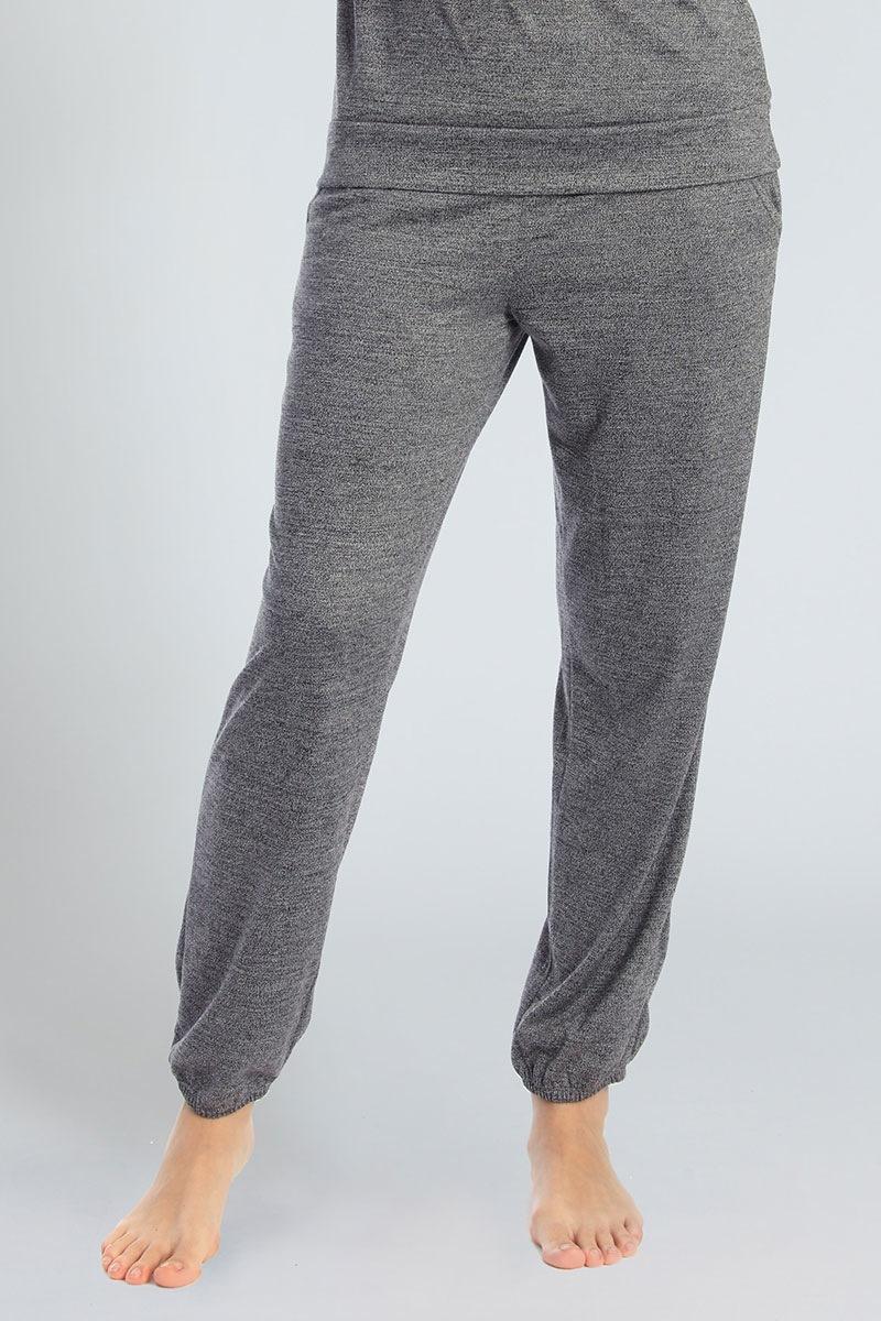 Sassa Pantalon de casa Grey pentru femei
