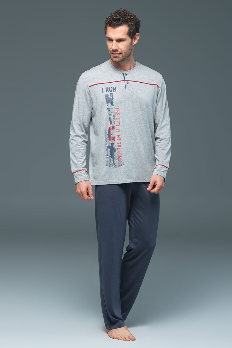 Pijama barbateasca Ronnie – modal de la Blackspade