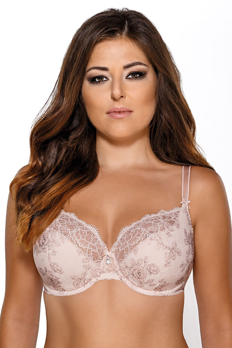 Avalingerie Sutien Rose semi-intarit