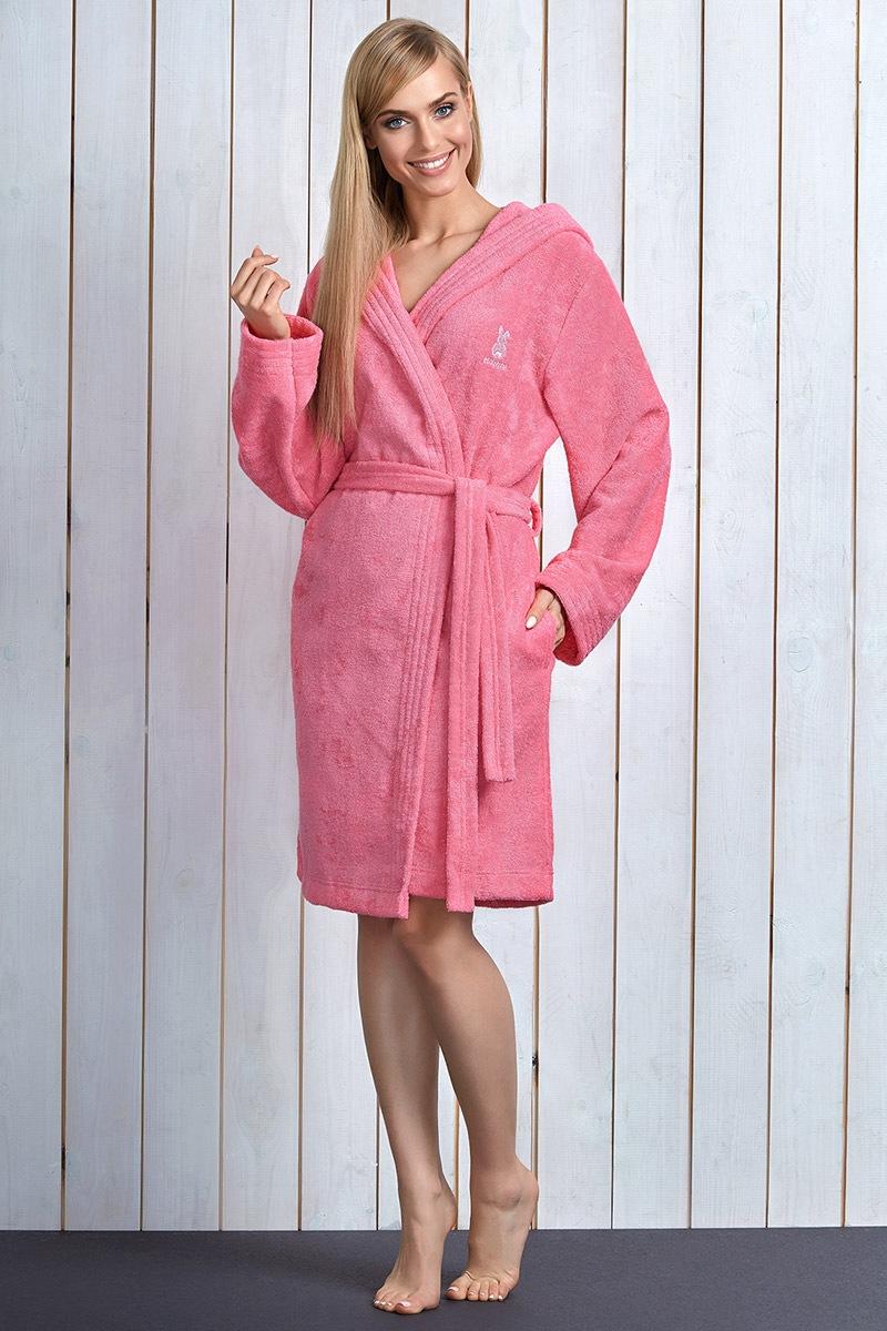 Capot dama Alba Pink cu fibre de bambus