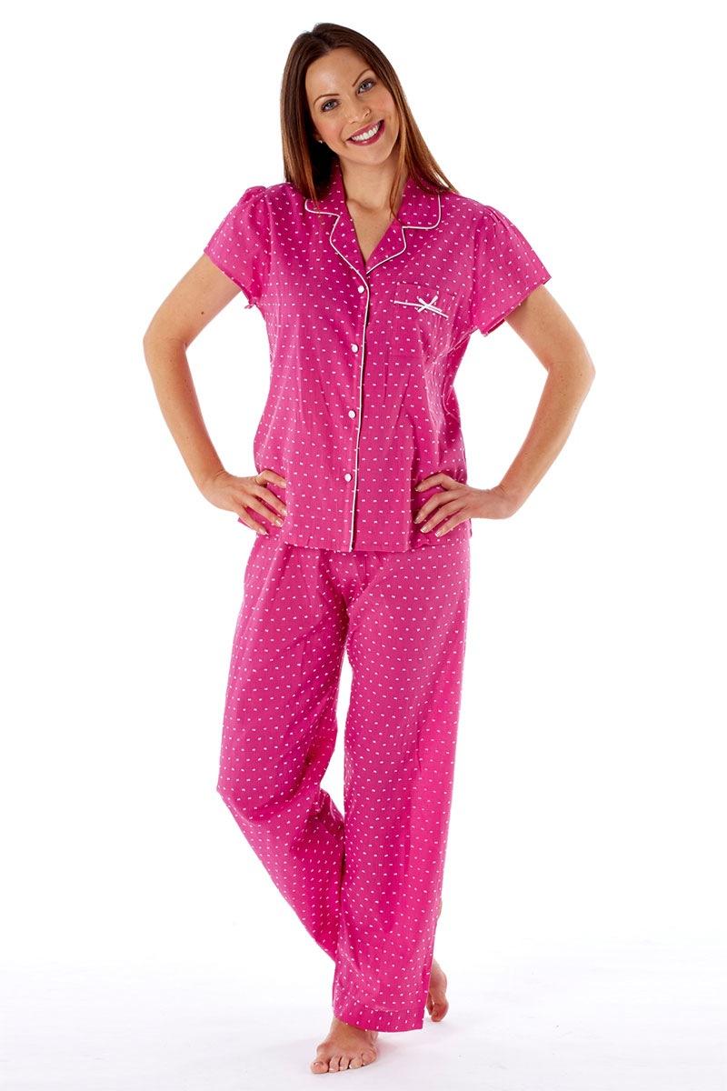 Pijama dama Amanda Pink