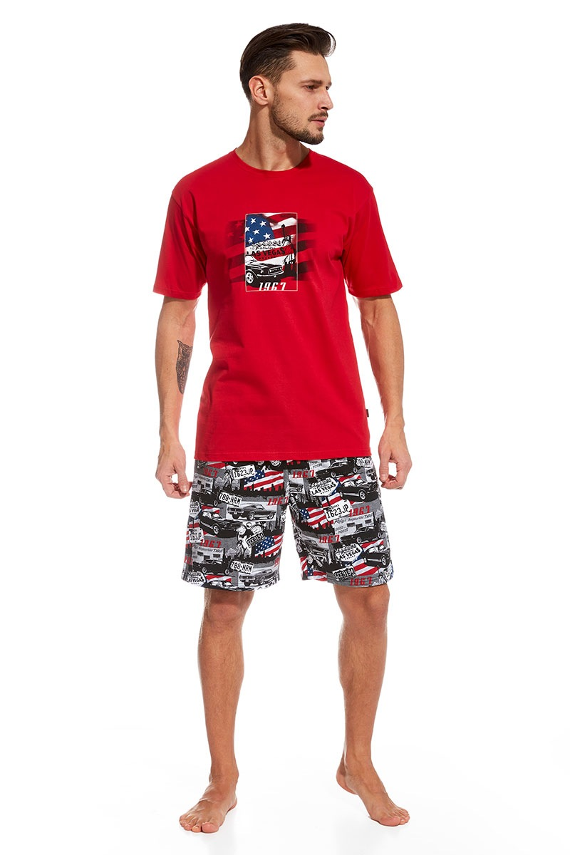 Cornette Pijama barbateasca America