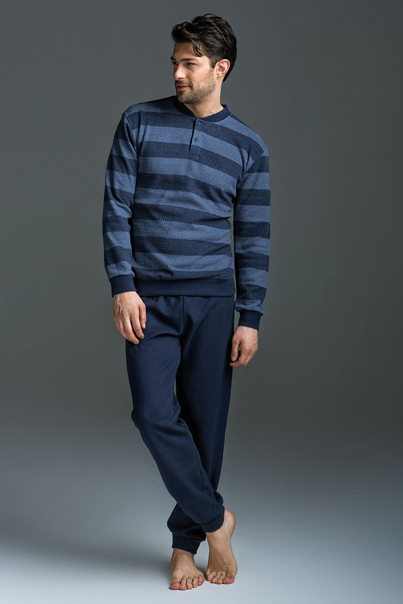 Enrico Coveri Set barbatesc Matteo – bluza pantalon