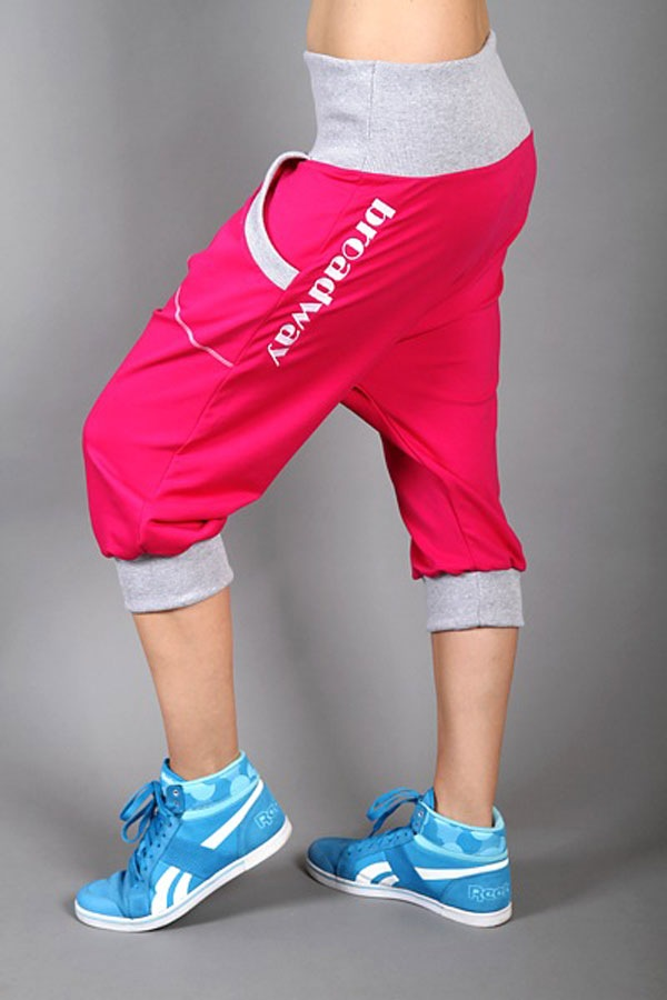 Pantalon sport Electric magenta