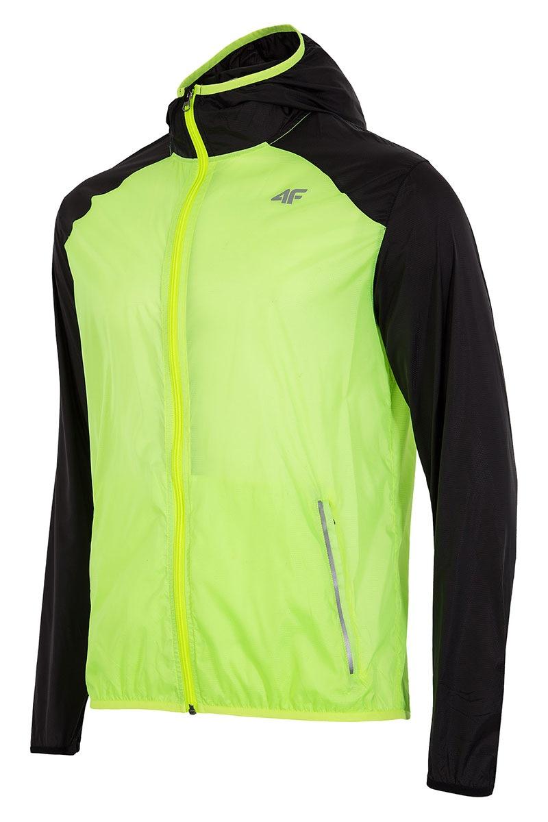 4F Jacheta barbateasca pentru alergare din material impermeabil