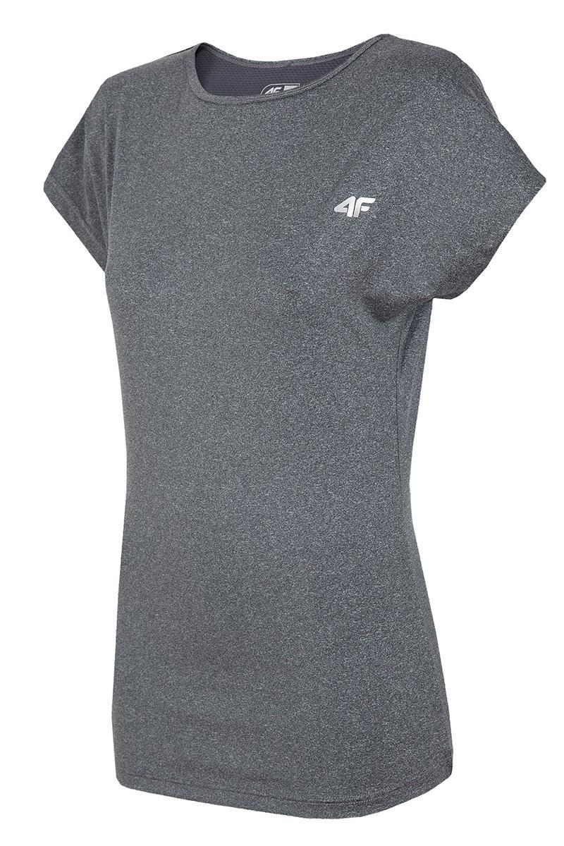 4F Tricou sport de dama Grey