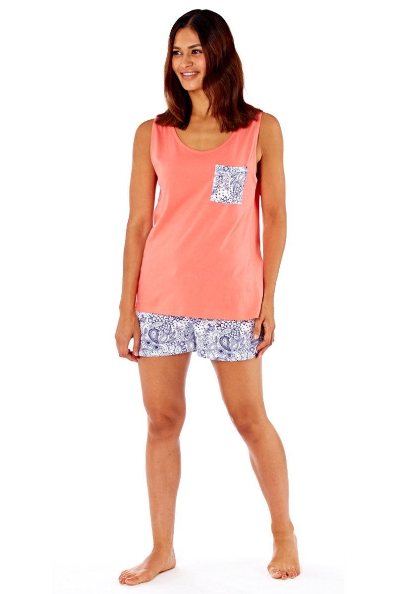 Selena Secrets Pijama dama Paisley din bumbac