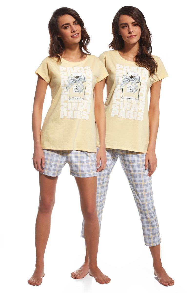 Set pijamale 3 piese Parfum de la Cornette