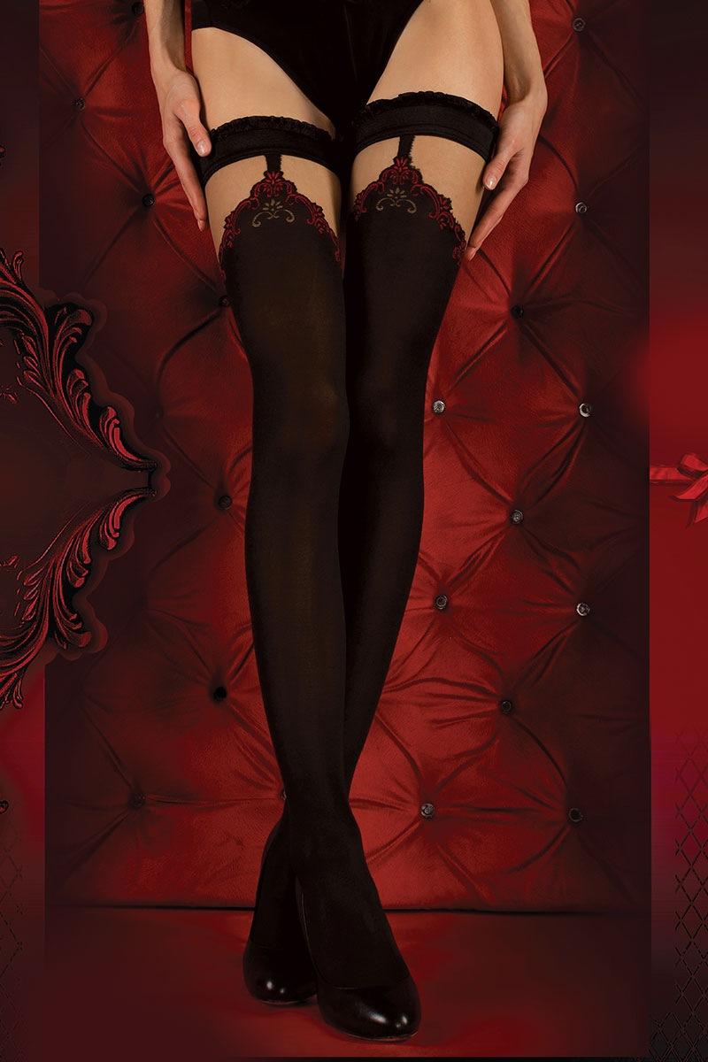 Ballerina Dres portjartier de lux Red Intense 345