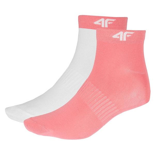 4F Sosete sport de dama Coral – 2pack